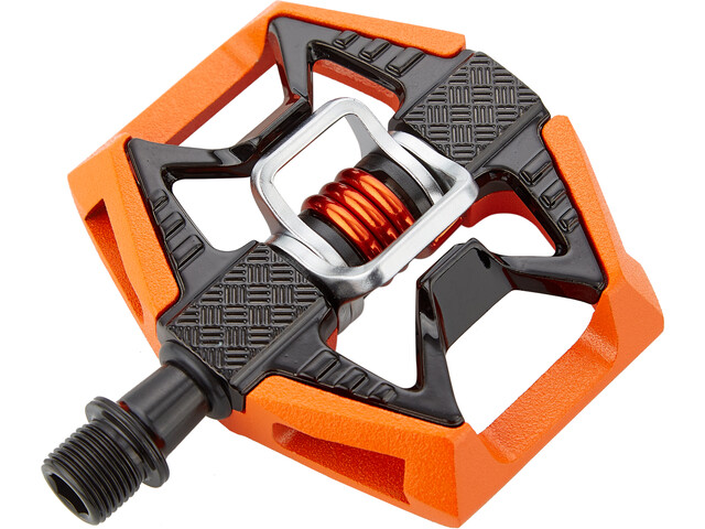 Crankbrothers Double Shot 2 Pedales, orange/black